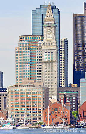 Boston Custom House in Financial District