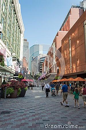 Free Boston Downtown Stock Images - 100076354