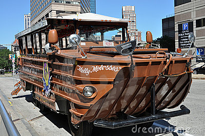 Boston duck boat tours Editorial Stock Image