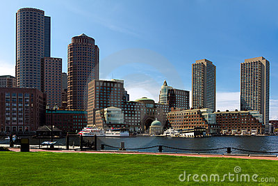 Boston Financial District