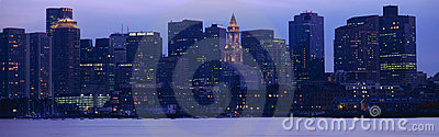Boston Harbor Editorial Image