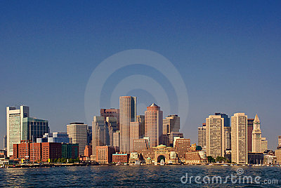 Boston Harbor Front