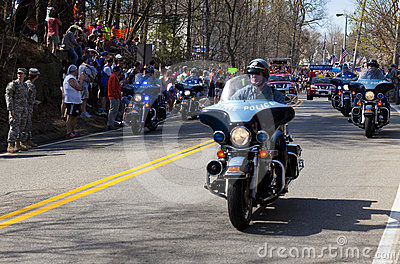 Boston Marathon Editorial Photography