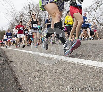 Boston Marathon 2013 Editorial Stock Photo