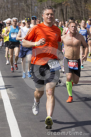 The Boston Marathon 2014 Editorial Image
