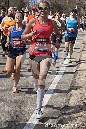 The Boston Marathon 2014 Editorial Stock Image