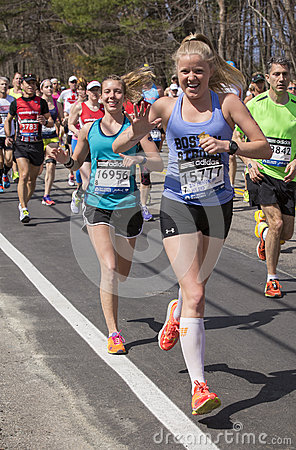 The Boston Marathon 2014 Editorial Stock Photo