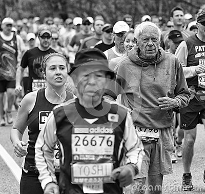 Boston Marathon 2013 Editorial Image