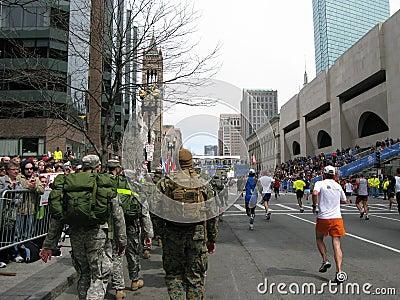 Boston Marathon Finish Line 2009 Editorial Photo