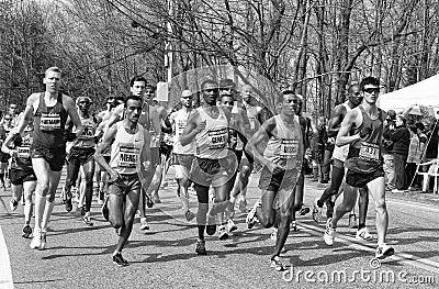 Boston Marathon 2013 Editorial Photo