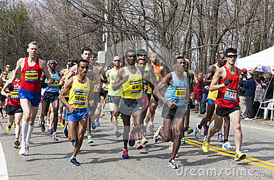 Boston Marathon 2013 Editorial Stock Photo