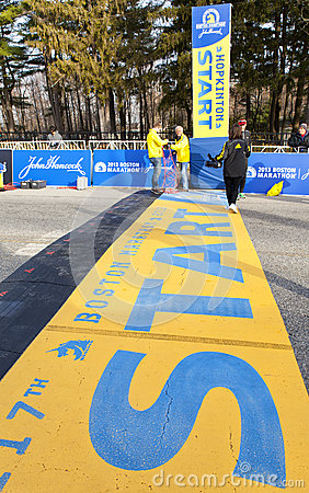 Boston Marathon 2013 Editorial Photo