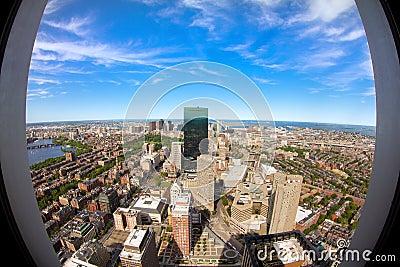 Boston in Massachusetts