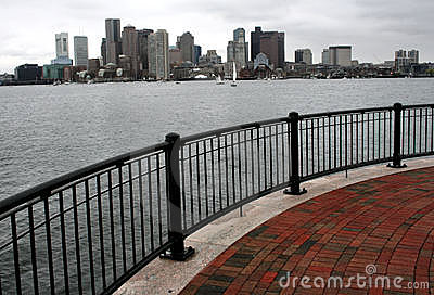 Boston from the Pier