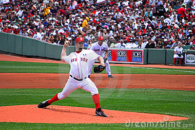Boston Red Sox, Brad Penny Editorial Stock Photo