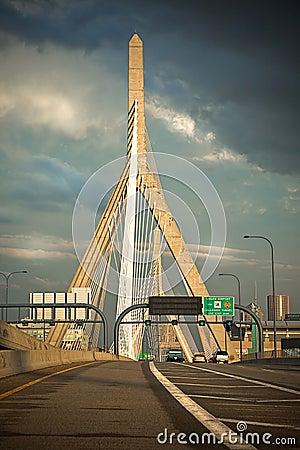 Boston s Leonard P Zakim Cable Stay Bridge