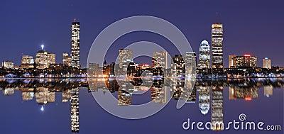 Boston Skyline at Back Bay