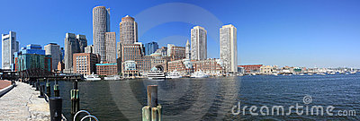 Boston Skyline Panorama