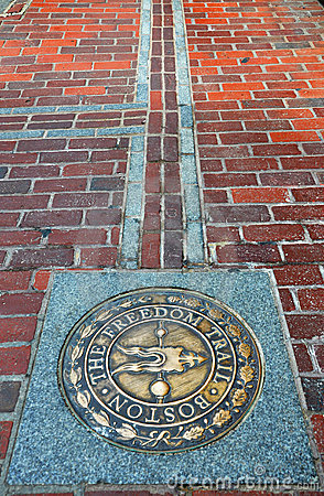 Free Boston The Freedom Trail Royalty Free Stock Photo - 20992495