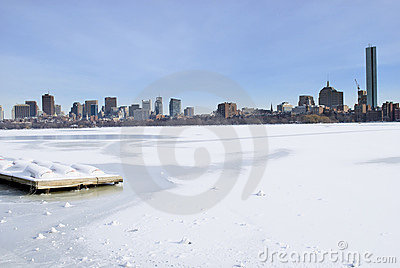 Boston Winter Skyline