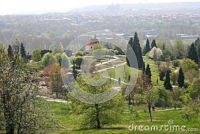 Botanic garden, Prague, Czech republic