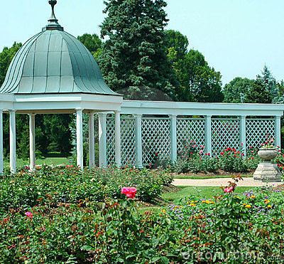 Free Botanical Gardens And Gazebo 3 Stock Photos - 313963