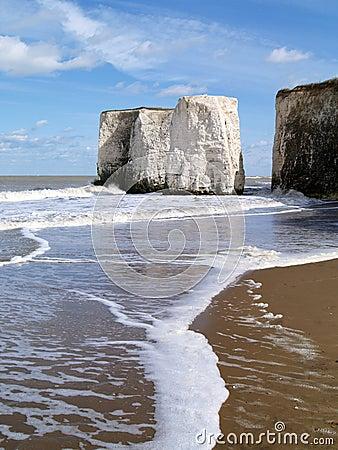 Botany Bay in Kent, English Beach
