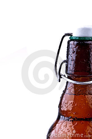 Botella de cerveza de Brown (cerveza alemana)