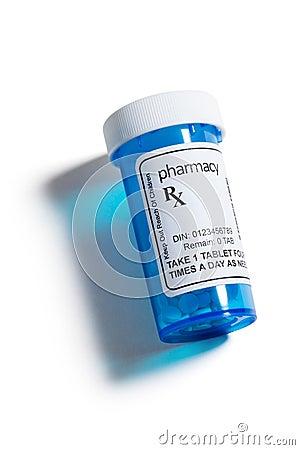 Botella de píldora