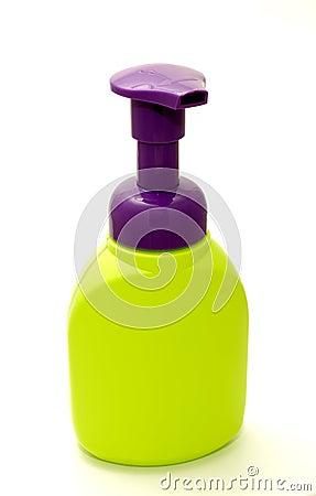 Botella del jabón