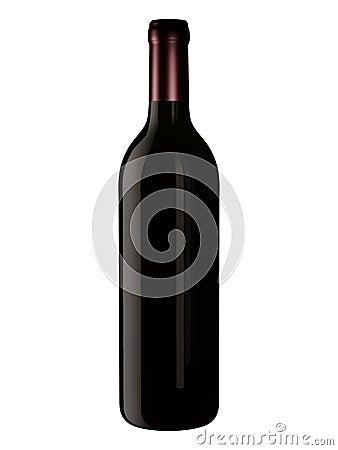 Botella para el diseño de empaquetado