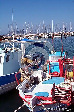Boten in Griekenland