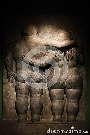 Free Botero S Scupture Royalty Free Stock Image - 54736236