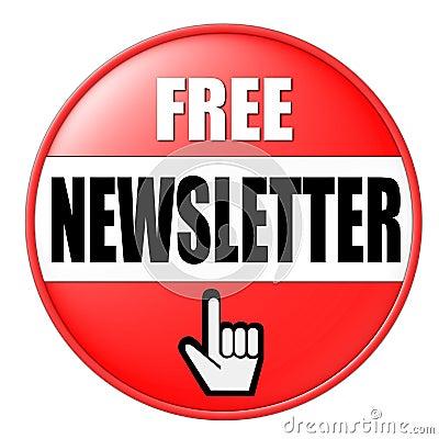 Botón para el boletín de noticias libre