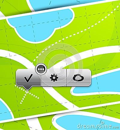 Botones de la localización
