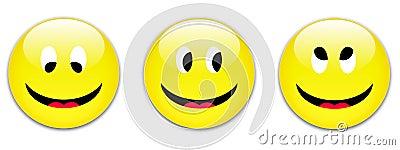 Botones de la sonrisa