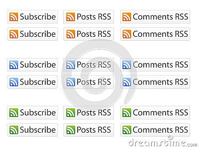 Botones de RSS