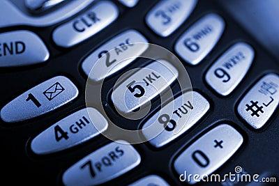 Botones del teléfono celular