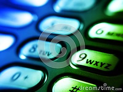 Botones del teléfono móvil