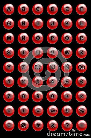 Botones del Web site