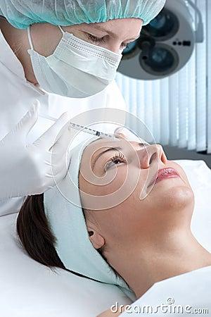 Free Botox Injection Royalty Free Stock Image - 11605026
