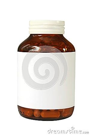 Bottiglia di pillola