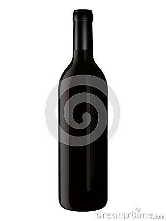Bottiglia per il disegno di imballaggio