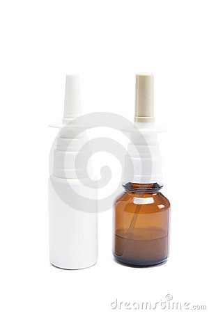 Bottiglie di spruzzo nasale