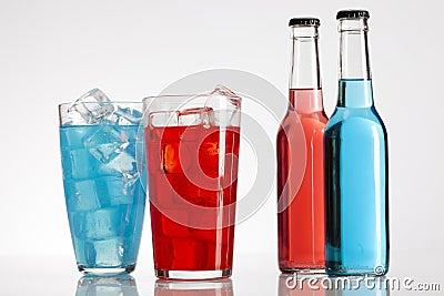 Bottle alcohol cocktail