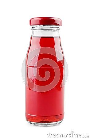 Bottle of baby juice