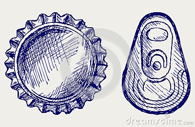 Bottle Cap Stock Image - Image: 26975291