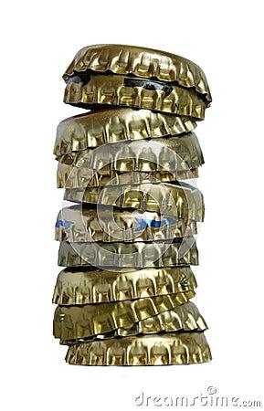 Free Bottle Caps. Royalty Free Stock Image - 23608896