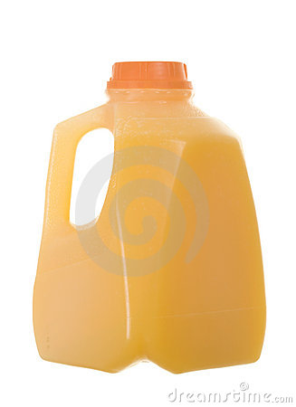 Bottle of Citrus Punch/Orange Juice