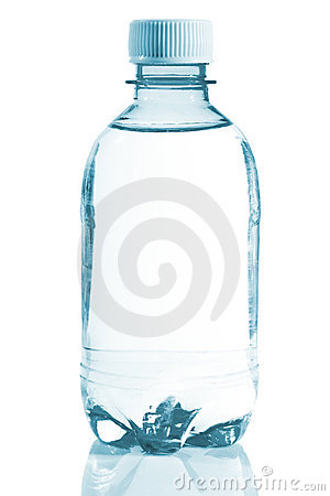 Bottle of clear water